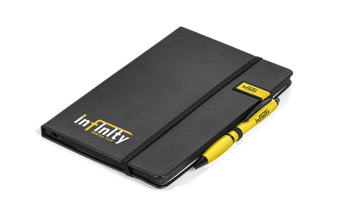 Century Usb Notebook Gift Set- Yellow Only Corporate gifts