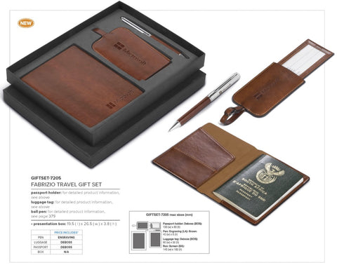 Fabrizio Travel Gift Set Corporate gifts