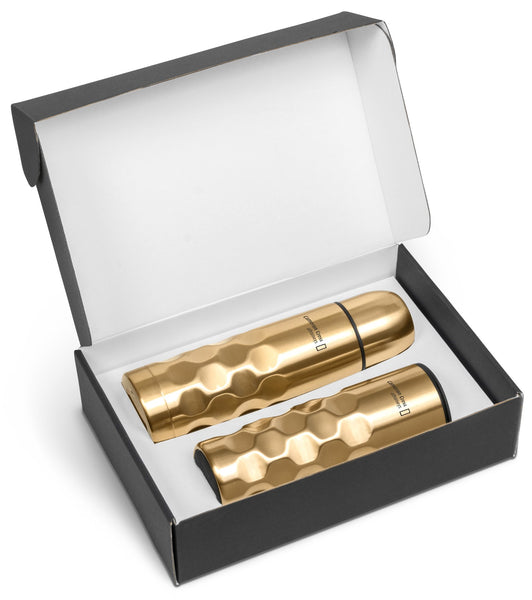 Meteor Two Gift Set- Gold Only Corporate gifts