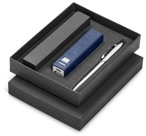 Renaissance Two Gift Set - Navy Only Corporate gifts