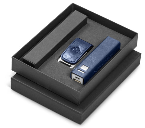 Renaissance Three Gift Set - Navy Only Corporate gifts