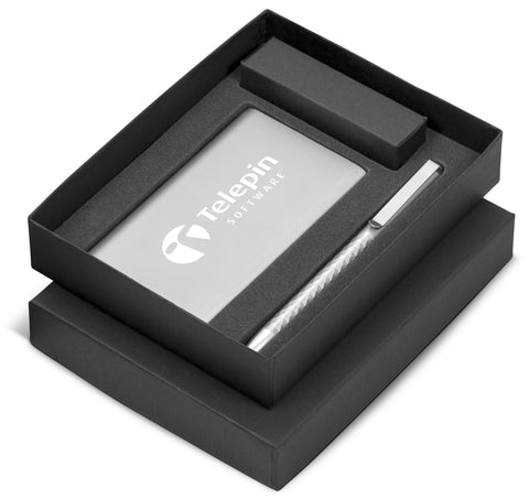 Prestige Seven Gift Set - Silver Only Corporate gifts