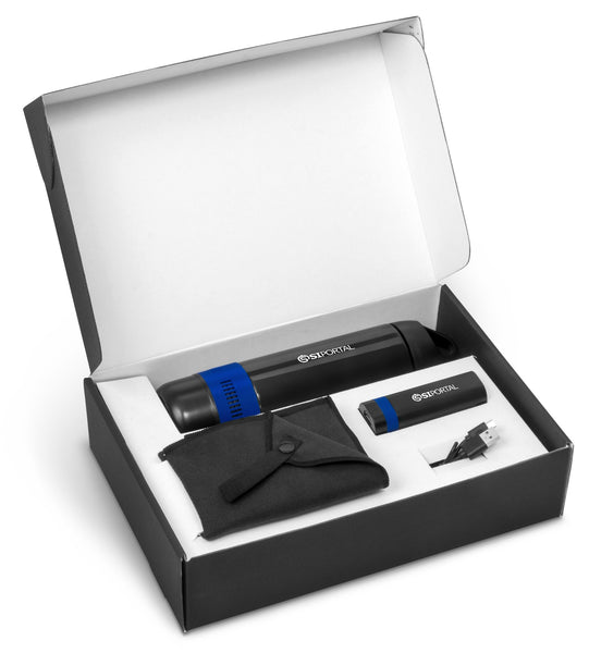Bandit Two Gift Set - Blue Corporate gifts