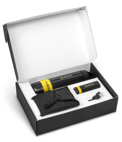 Bandit Two Gift Set - Yellow Only Corporate gifts