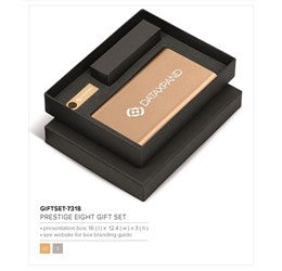 Prestige Eight Gift Set - Gold Only Corporate gifts