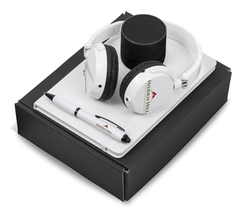 Omega Five Gift Set - Solid White Only Corporate gifts