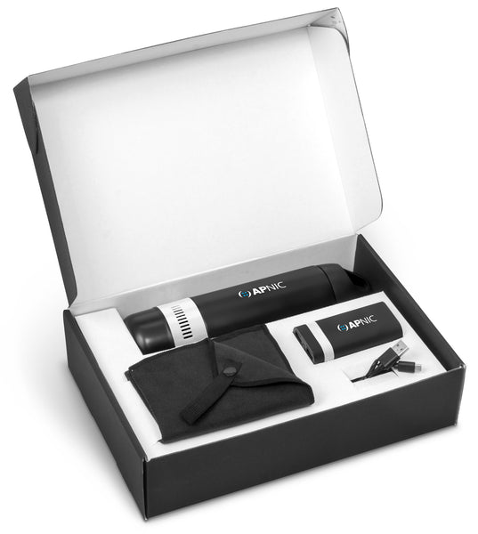 Bandit Three Gift Set - Solid White Only Corporate gifts