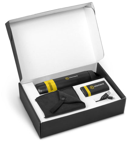 Bandit Three Gift Set - Yellow Only Corporate gifts