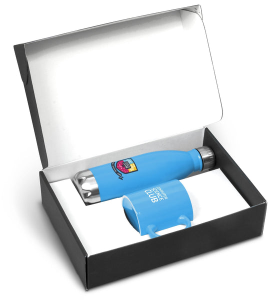 Omega One Gift Set -Cyan Only Corporate gifts