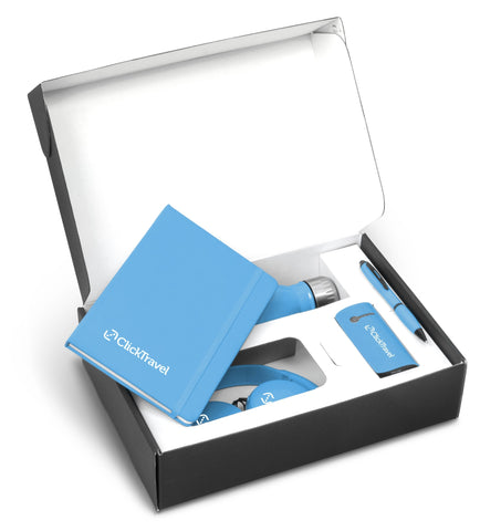 Omega Six Gift Set - Cyan Only Corporate gifts