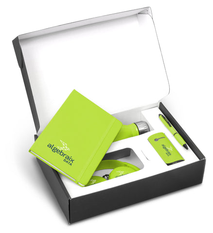Omega Six Gift Set - Lime Corporate gifts