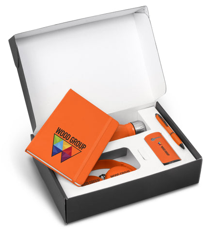 Omega Six Gift Set - Orange Only Corporate gifts