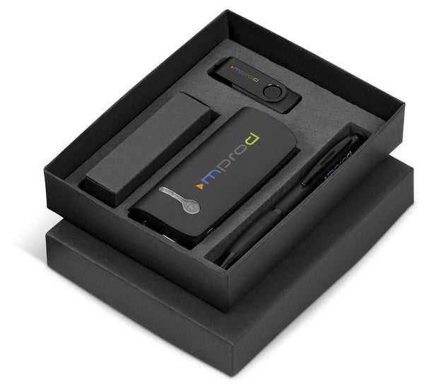 Optimus Two Gift Set - Black Only Corporate gifts