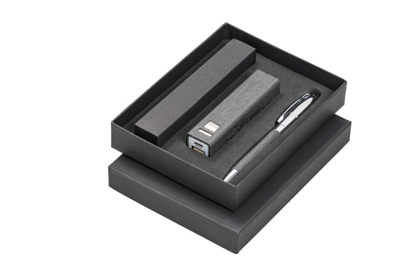 Oakridge Two Gift Set - Grey Only Corporate gifts