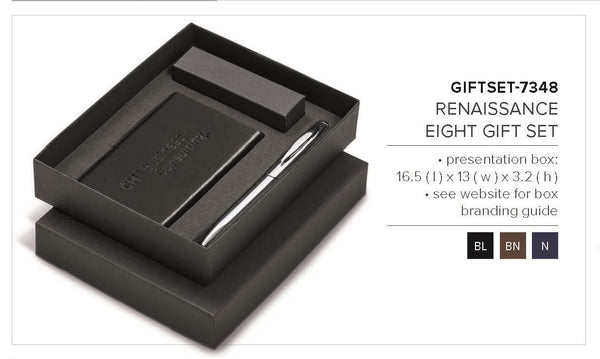 Renaissance Eight Gift Set - Black Only Corporate gifts
