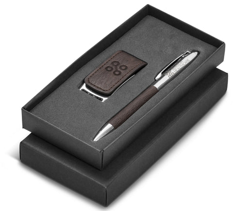 Oakridge One Gift Set - Brown Only Corporate gifts