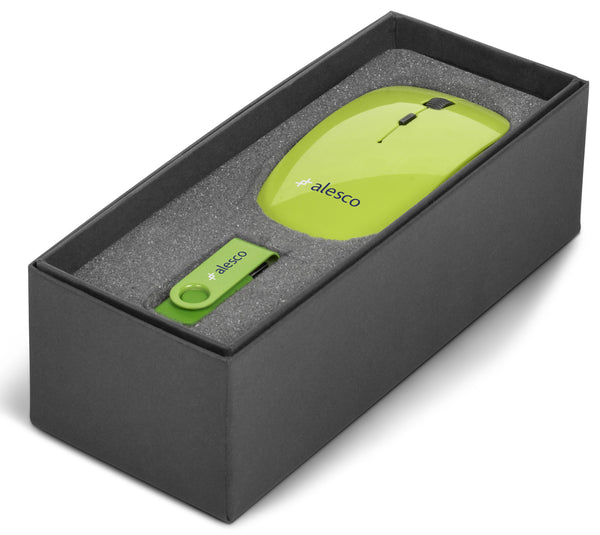 On The Desk One Gift Set - Lime Only Corporate gifts