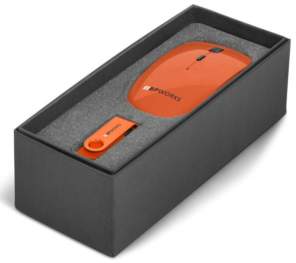 On The Desk One Gift Set - Orange Only Corporate gifts