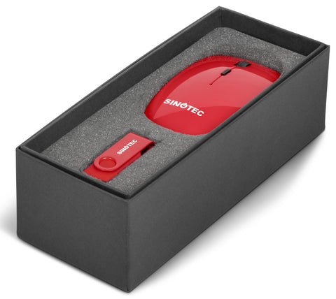 On The Desk One Gift Set - Red Only Corporate gifts
