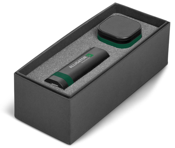 Bandit Four Gift Set - Dark Green Only Corporate gifts