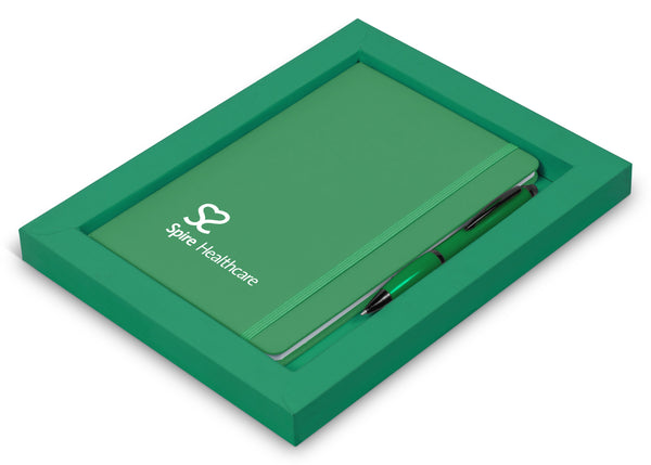 Omega Notebook Gift Set - Green Only Corporate gifts
