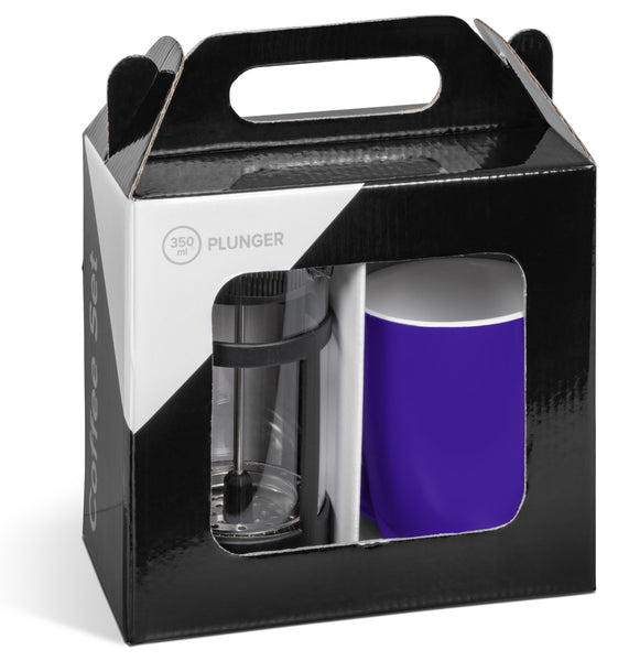 Cafe Payton Coffee Set - Purple Only Corporate gifts