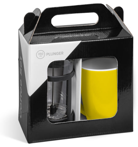 Cafe Payton Coffee Set - Yellow Only Corporate gifts