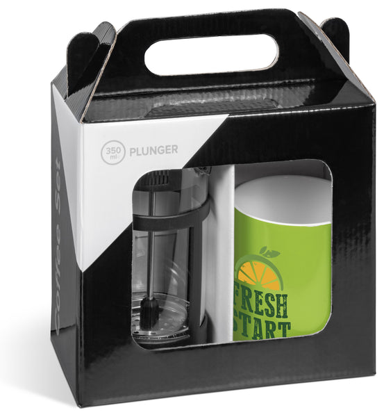 Cafe Omega Coffee Set - Lime Only Corporate gifts