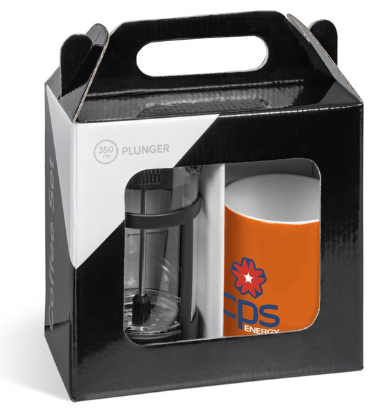 Cafe Omega Coffee Set - Orange Only Corporate gifts