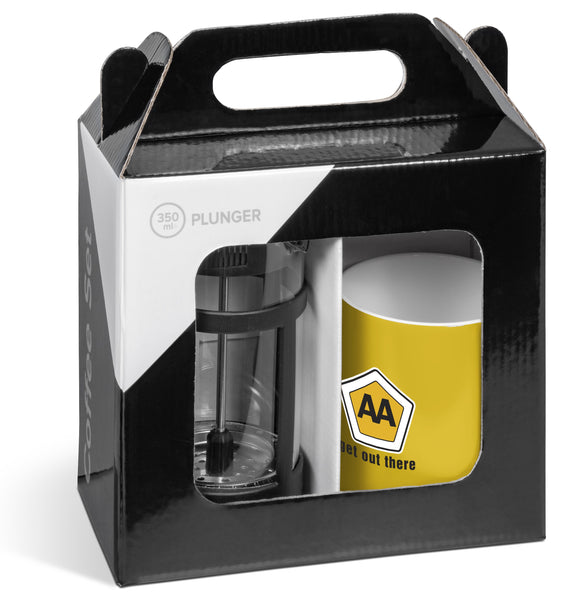 Cafe Omega Coffee Set - Yellow Only Corporate gifts