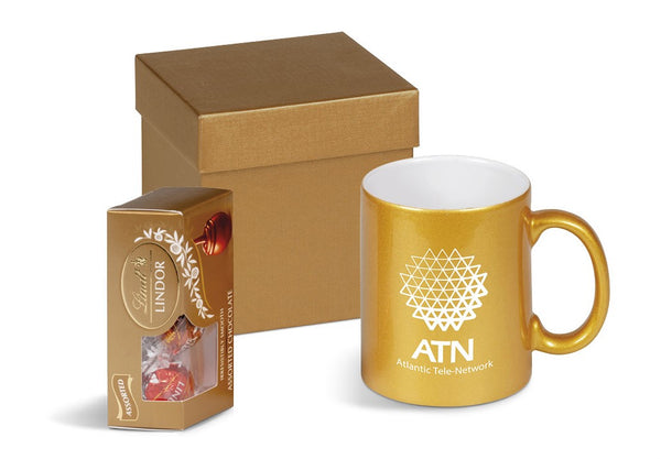 Mugnificent One Gift Set - Gold Only Corporate gifts