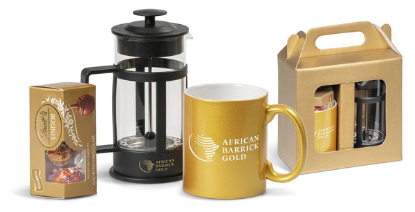 Brewham Gift Set - Gold Only Corporate gifts