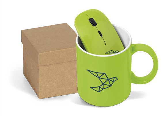 Omega On The Desk Gift Set - Lime Only Corporate gifts