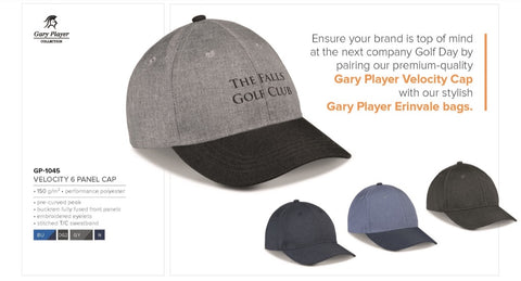 Velocity 6 Panel Cap Corporate gifts