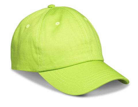 Accelerate 6 Panel Cap - Lime Only Corporate gifts