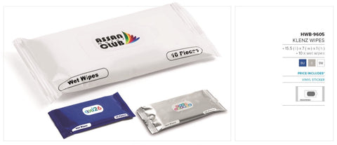 Klenz Wipes Corporate gifts