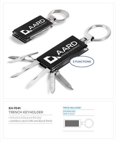 Trench Keyholder Corporate gifts
