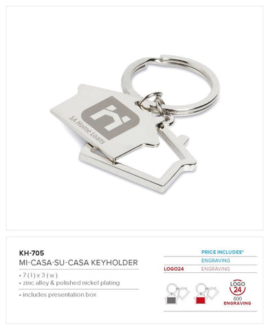 Mi-Casa-Su-Casa Keyholder Corporate gifts
