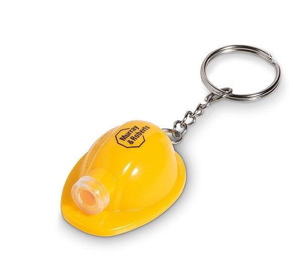 Construction Torch Keyholder - Yellow Only Corporate gifts