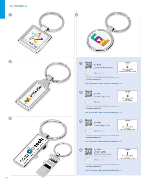 Cuboid Keyholder Corporate gifts