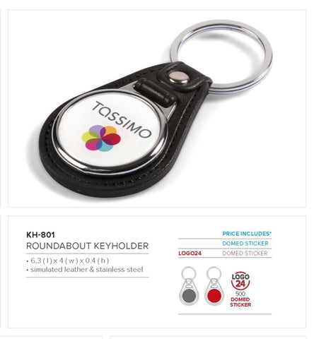 Roundabout Keyholder Corporate gifts