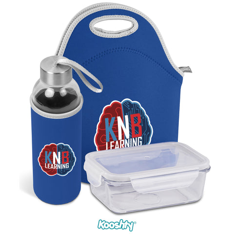 Kooshty Neo Refreshment Kit - Blue Only Corporate gifts