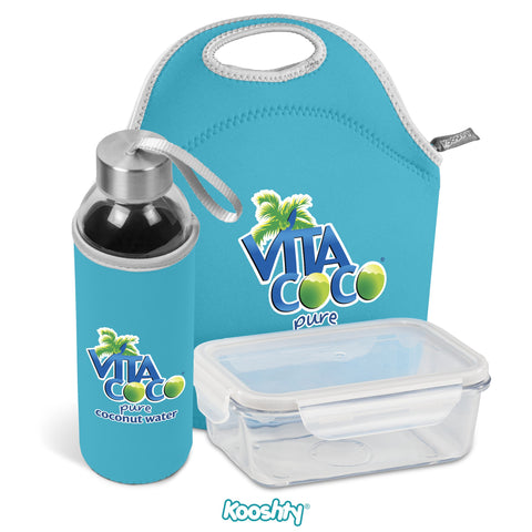 Kooshty Neo Refreshment Kit - Cyan Only Corporate gifts