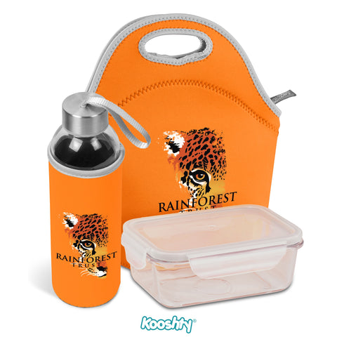Kooshty Neo Refreshment Kit - Orange Only Corporate gifts