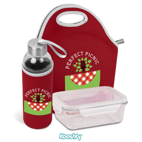 Kooshty Neo Refreshment Kit - Red Only Corporate gifts