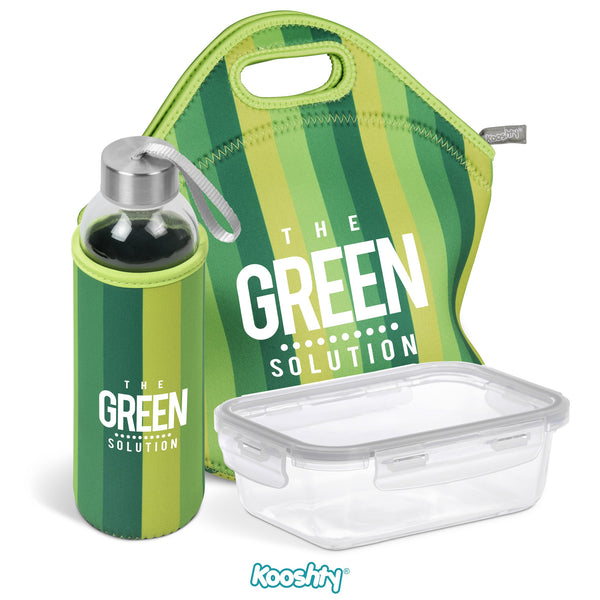 Kooshty Quirky Refreshment Kit - Lime Only Corporate gifts