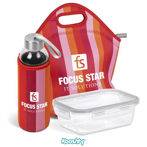 Kooshty Quirky Refreshment Kit - Red Only Corporate gifts