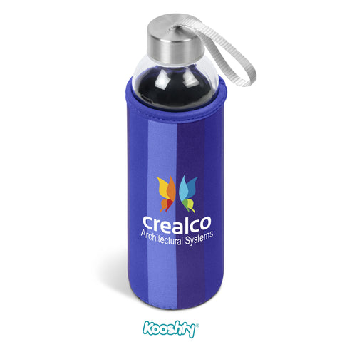 Kooshty Quirky Water Bottle - Blue Only Corporate gifts