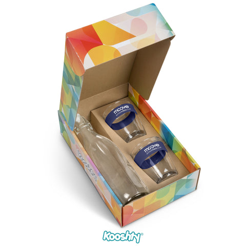 Kooshty Kool Drinking Set - Navy Only Corporate gifts