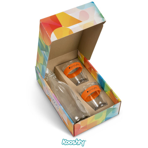 Kooshty Kool Drinking Set - Orange Only Corporate gifts